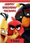 Personalised Angry Birds Movie Birthday Card